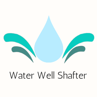 Water Well Shafter Beige Background